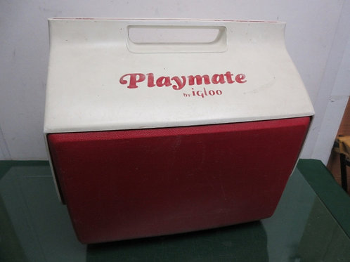 Igloo Playmate large red & white cooler