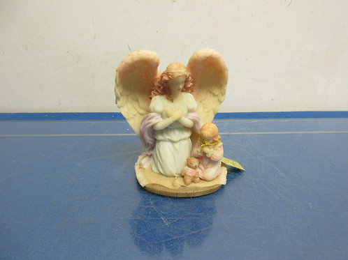 "Seraphin classics ""angel watch over me"" porcelain statue in box"