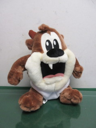 Warner Bros. Baby Tasmanian Devil stuffed animal in diaper, new