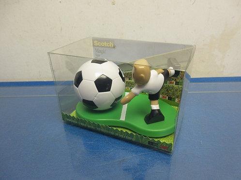 Scotch brand soccer theme tape dispenser