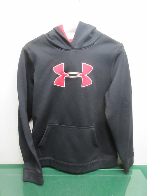Under Armour youth XL hoodie - black & red