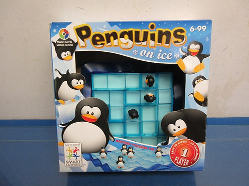 Penguins on ice game, ages 6 to 99