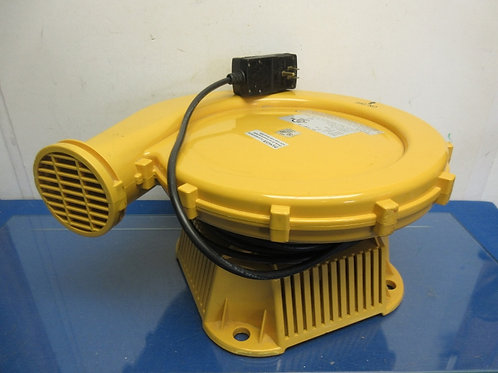 Yellow air pump fan, can also be used as a floor dryer
