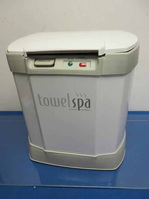 Brookstone electric spa towel warmer