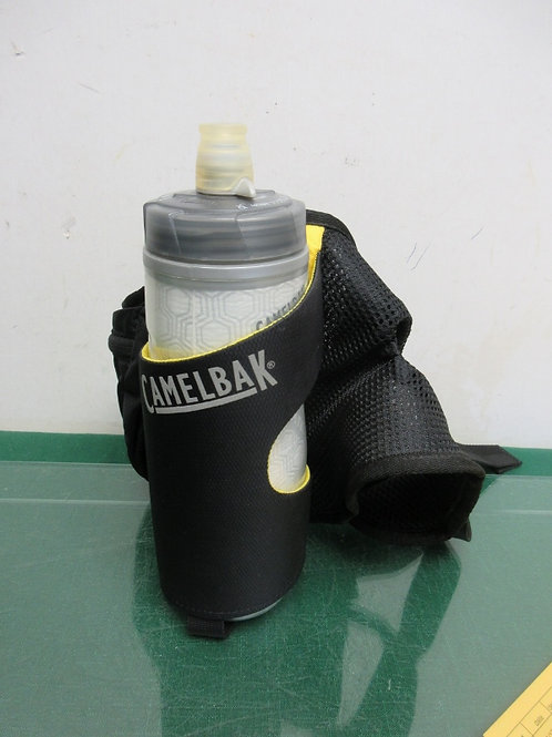 Camelbak bikers water bottle with holster belt-black