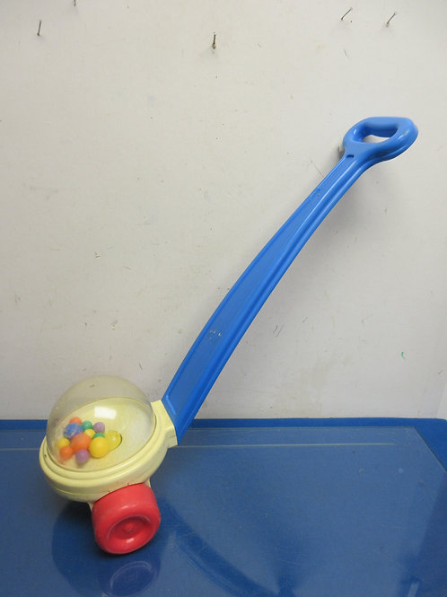 Fisher Price push behind ball popper