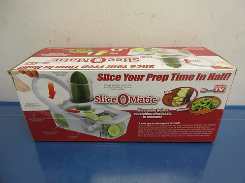 Slice-o-matic quick slicer as seen on tv