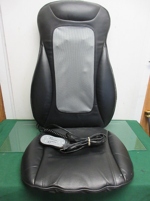 Brookstone Shiatsu massaging seat topper with wired controller