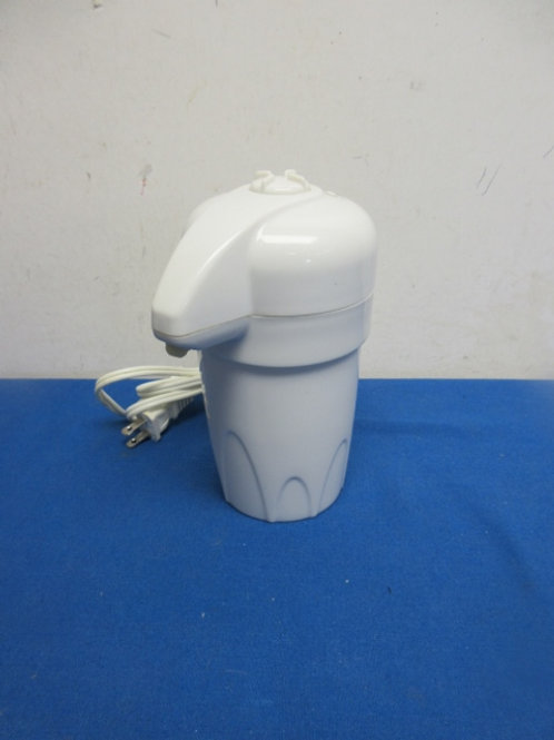 Electric warm lotion dispenser - white - 2 avail