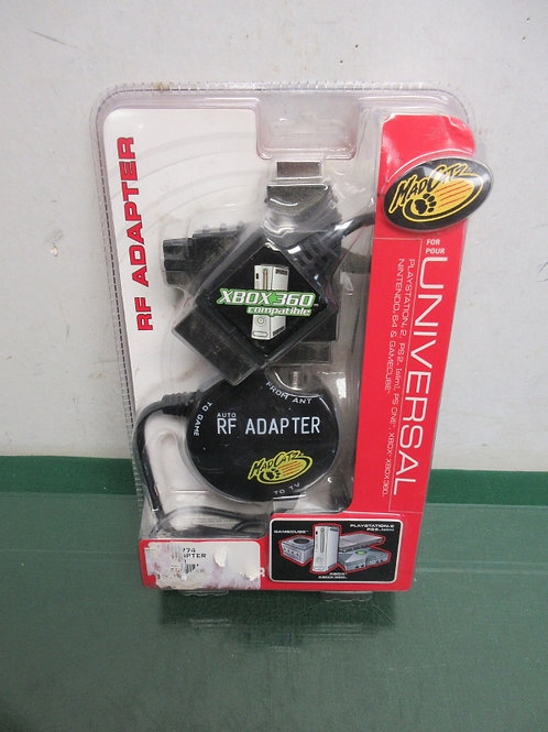 Mad Catz universal RF adapter for up to 4 video game systems, New