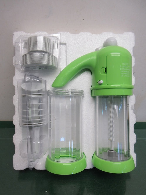 Prepology battery operated cookie press - green - brand new