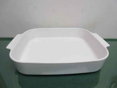 Corningware white xlarge baker 13x11
