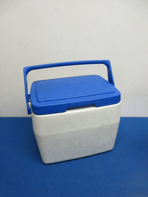 Coleman blue and white personal lunch cooler
