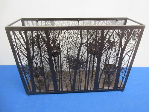 Party Lite Votive candles holder with metal trees