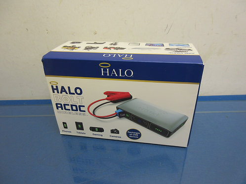 Halo Bolt ACDC wireless phone charger,car charger, jumper cables