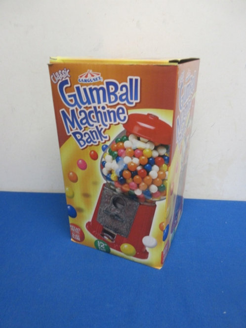 "Carousel classic 12"" gumball machine bank"