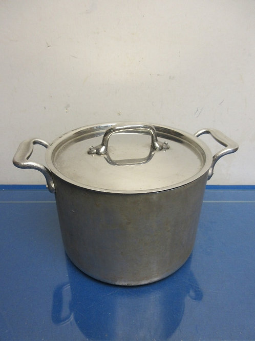 All-Clad stainless steel 6qt stock pot with lid