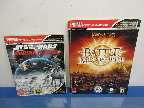 Prima game guides Star Wars and Lord of the Rings