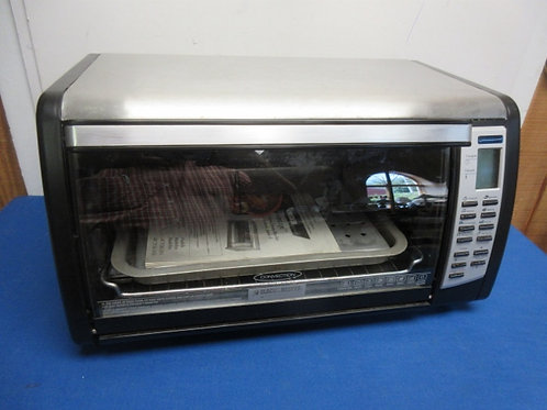 """Black & Decker digital large size counter top toasteroven - 12"""" pizza size"""