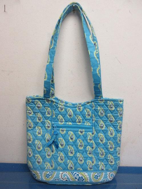 Vera Bradley light blue tote style purse