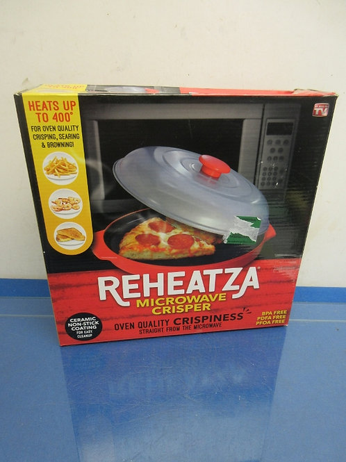ReHeatza microwave crisper, New in box