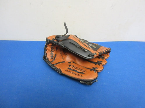PkoTech brown & black childs right handed baseball glove
