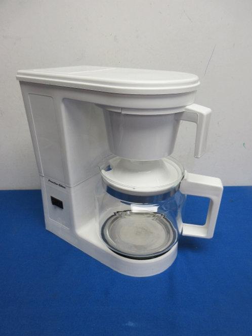 Proctor Silex 10 cup white coffee maker