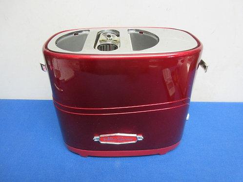Retro hot dog and bun toaster