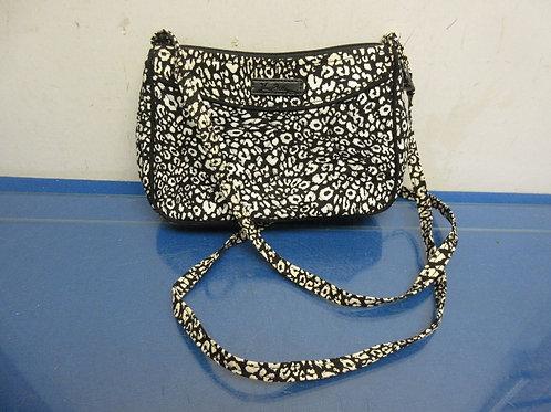 Vera Bradley small black & white purse w/shoulder strap