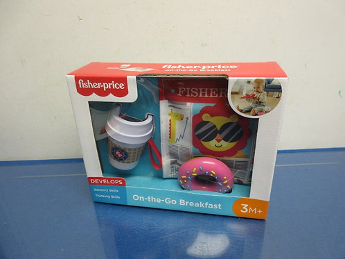 Fisher Price on the go breakfast-3 months & up-New in box