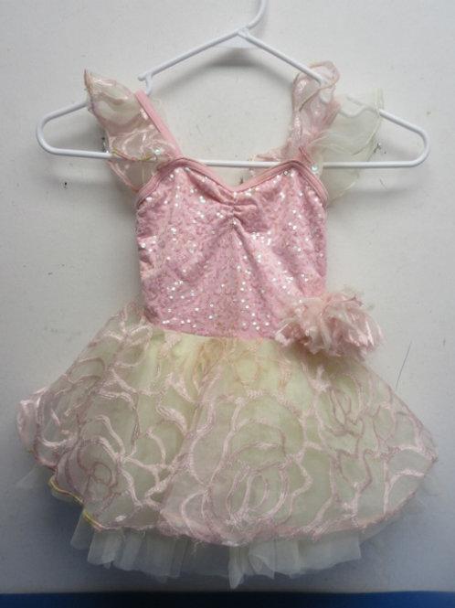 Pink childs costume/ Ballerinia tu tu- size small