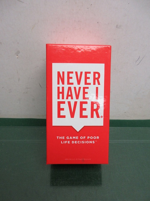 """""""Never have I ever"""" adult game 4-12 players"""