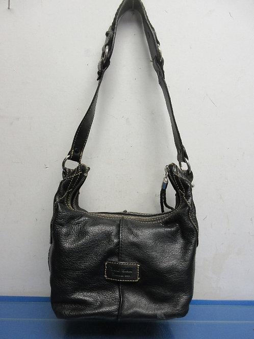 the Sak black leather handbag