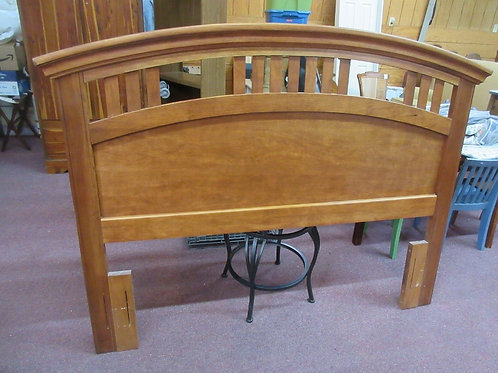 Queen/full head board with arched top
