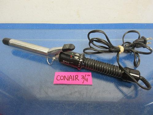 "Conair graduated heat control black 3/4"" curling iron"