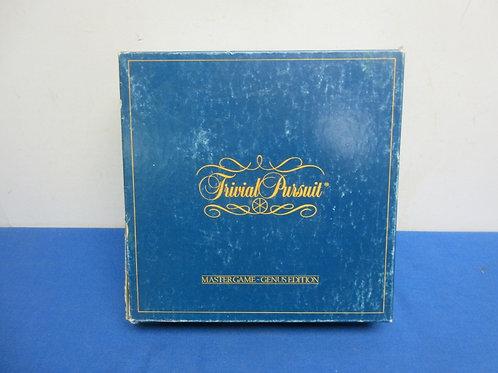 Vintage Mastergame of Trivial Pursuit