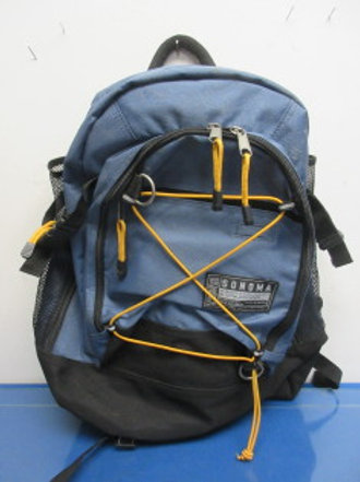 Sonoma Urban Gear blue and black back pack