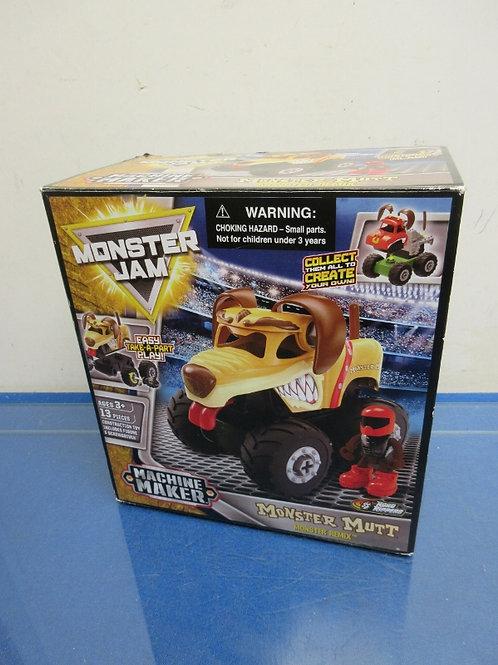 Monster Jam machine maker-take apart truck-13pcs