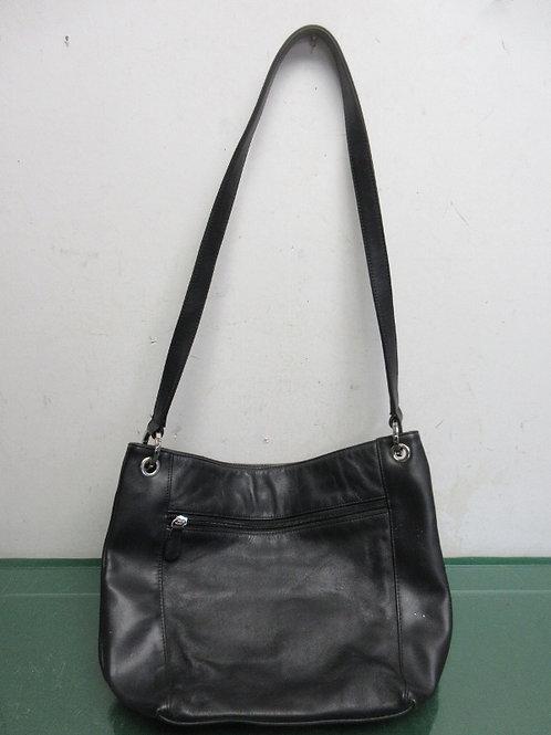 Black medium size shoulder bag