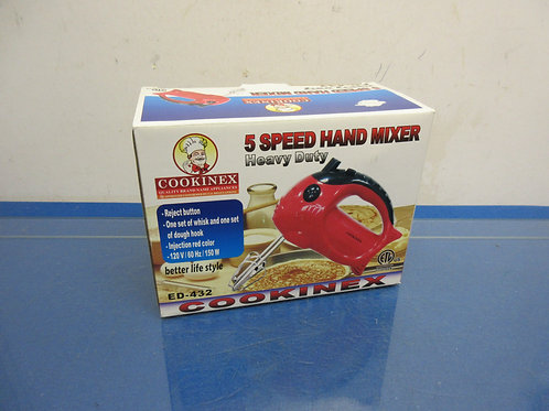 Cookinex 5 speed hand mixer,