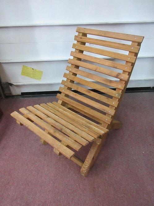 Wooden adirondeck 2 pc chair