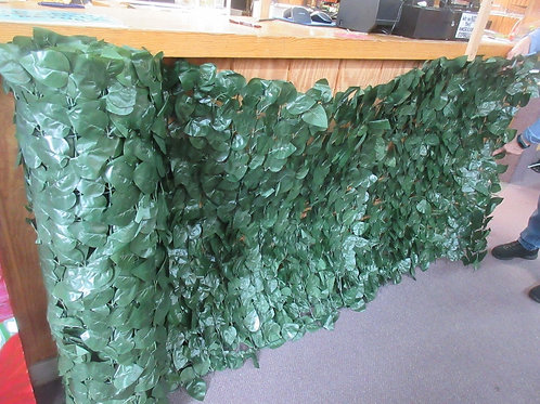 """Compas brand faux ivy fences, New in boxes 10ft long x 40"""" high, 2boxes availabl"""