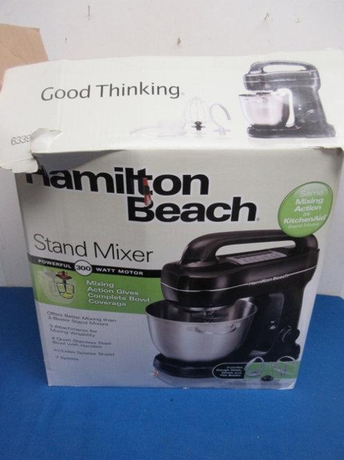 Hamilton Beach stand mixer-with bowl, flat beater, shield.....