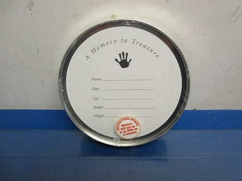 Handprint tin, memory to treasure - hand print
