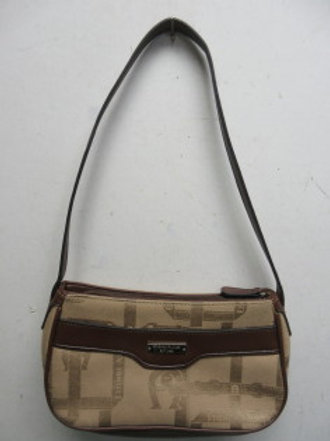 Etienne Aigner small tan & brown purse