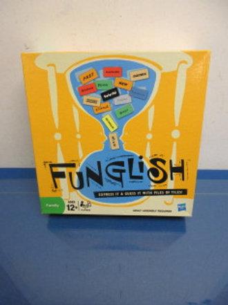 Funglish family game, 12 years & up