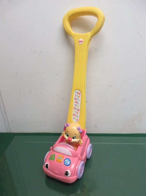 Fisher Price Smart Stages puppy push car