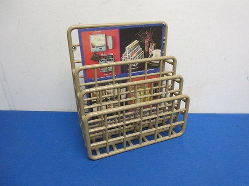Plastic 3 slot desk top organizer