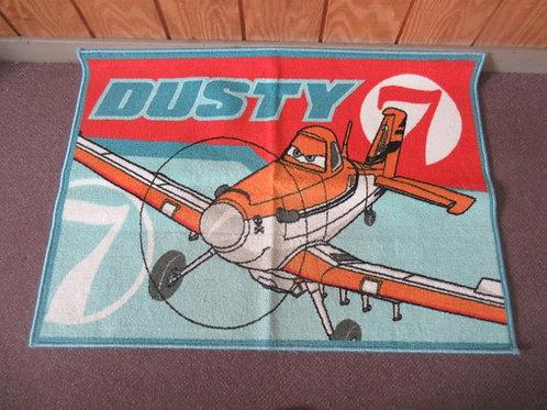 """Disney """"Dusty"""" rubber back throw rug - 44x31"""