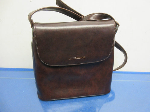 Liz Claiborne brown medium purse with shoulder strap